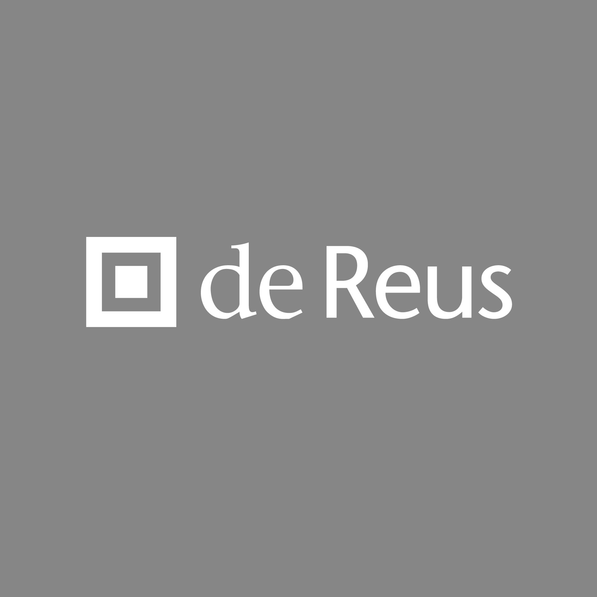 De Reus | Architects | Branding