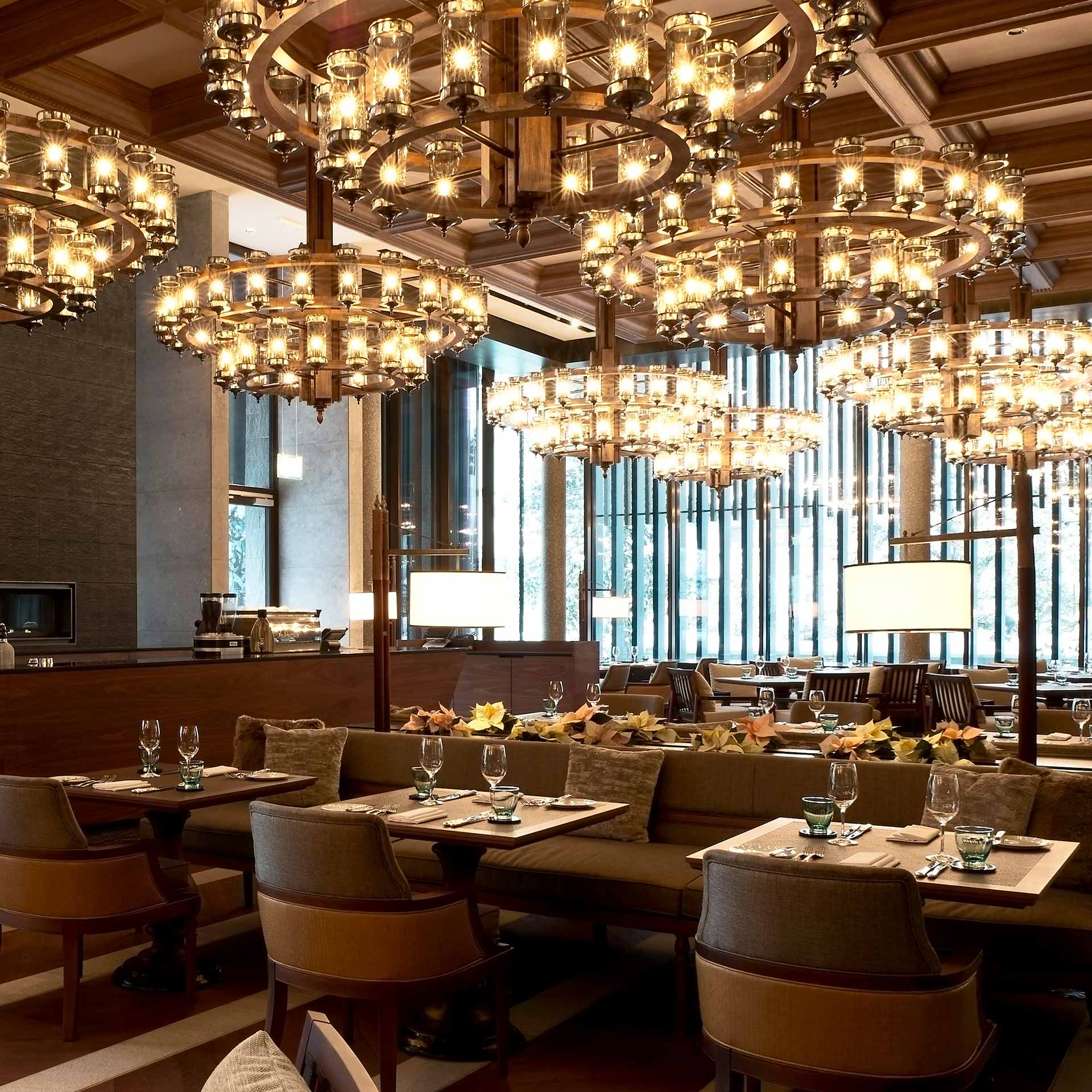 The Restaurant at The Chedi Andermatt | Luxury hotel marketing | General Hotel Management