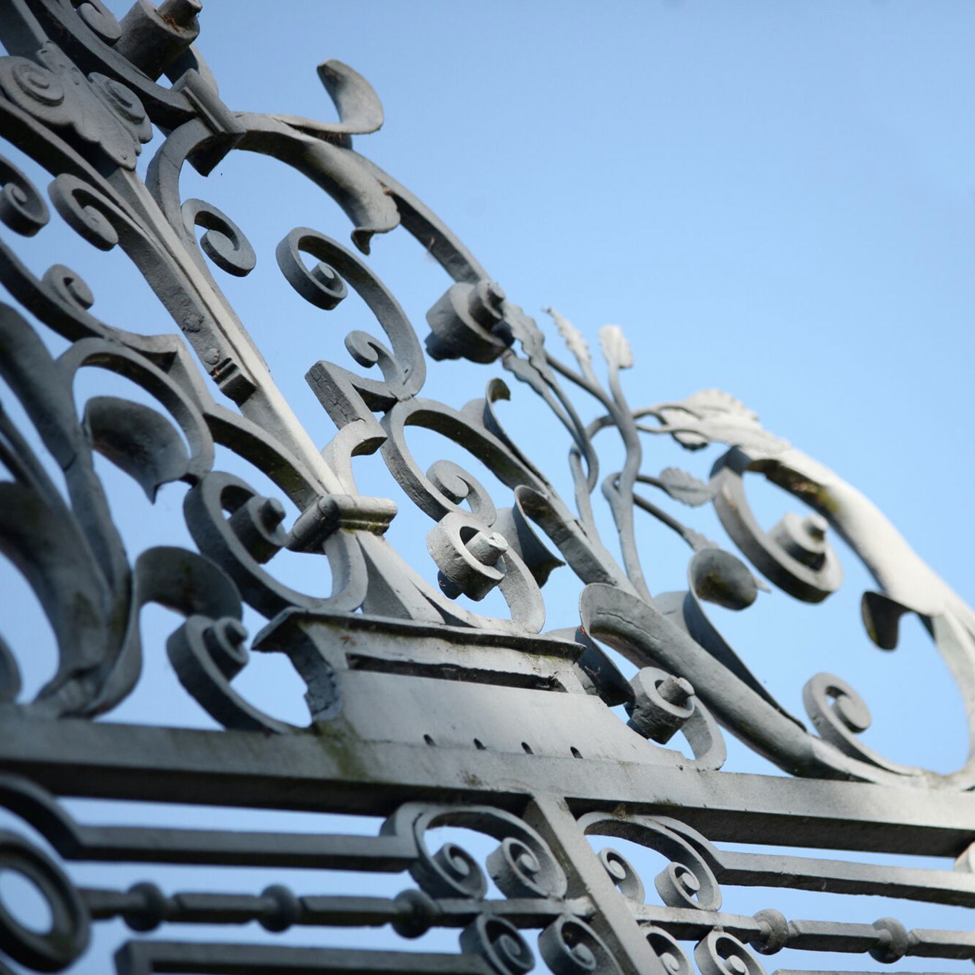 Luxury Branding | Firle Estate | Estate Gate Details