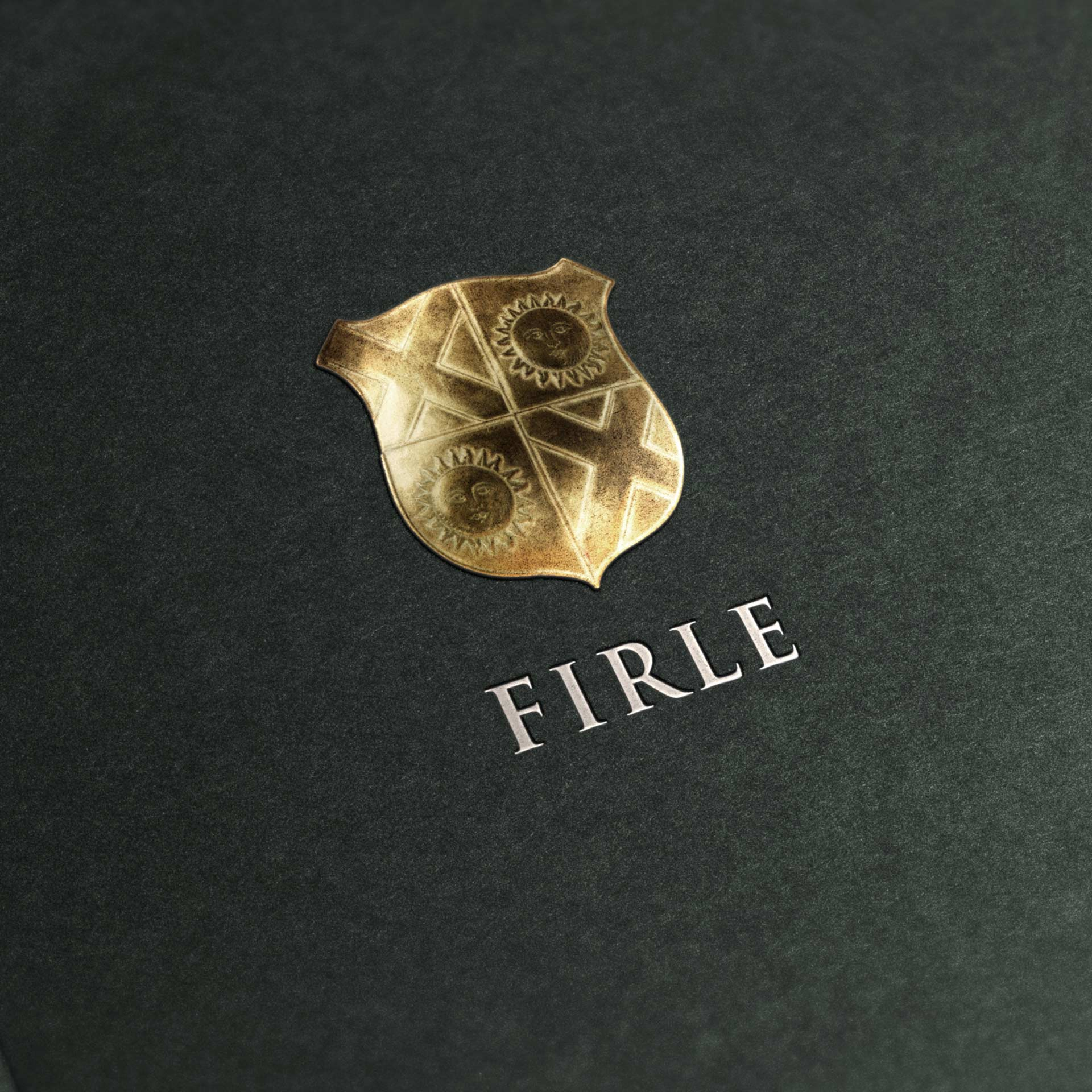 Brand Strategy | Firle Estate | Firle Shield Logo Mockup