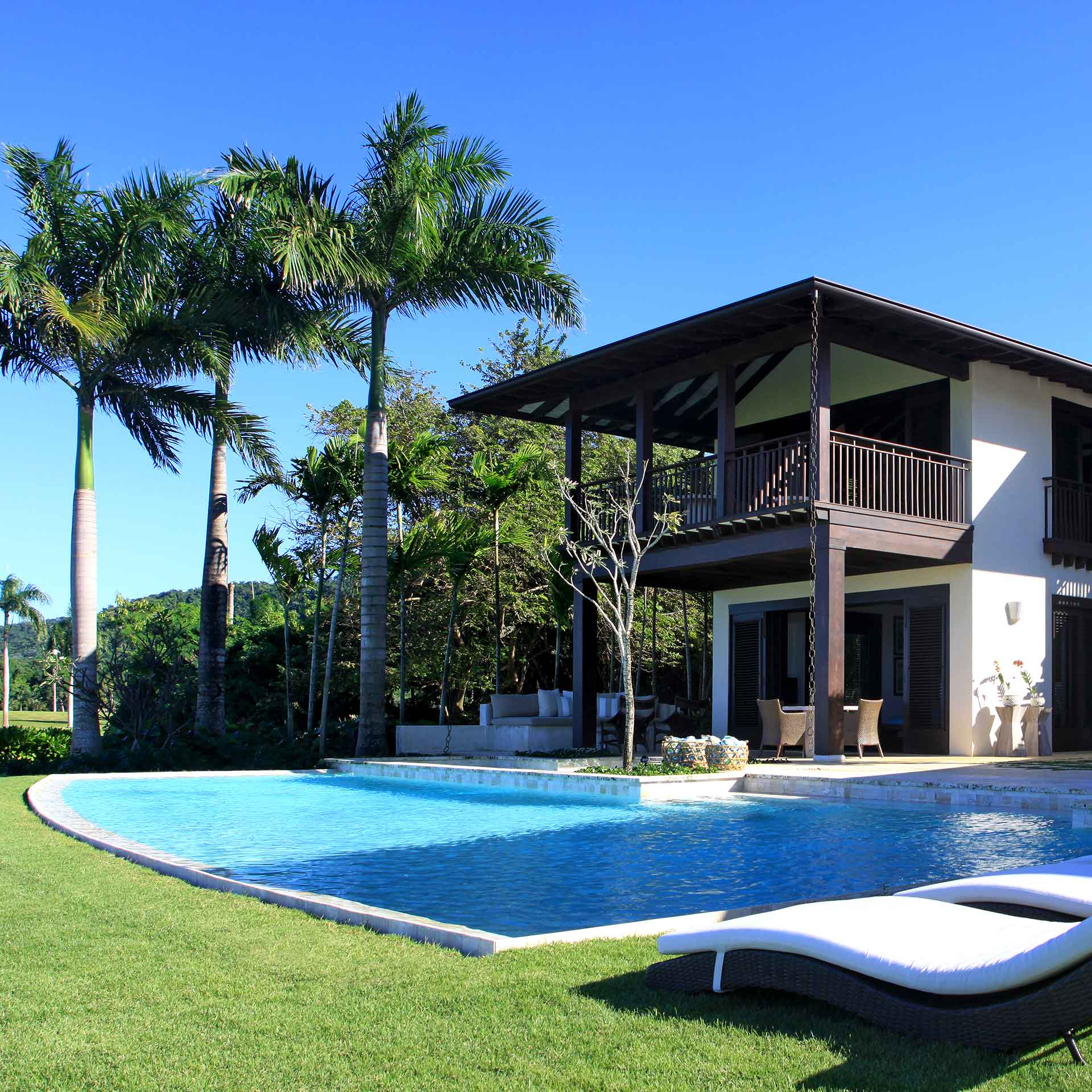 View of villa at Playa Grande | Luxury resort marketing | Dolphin Capital Investors