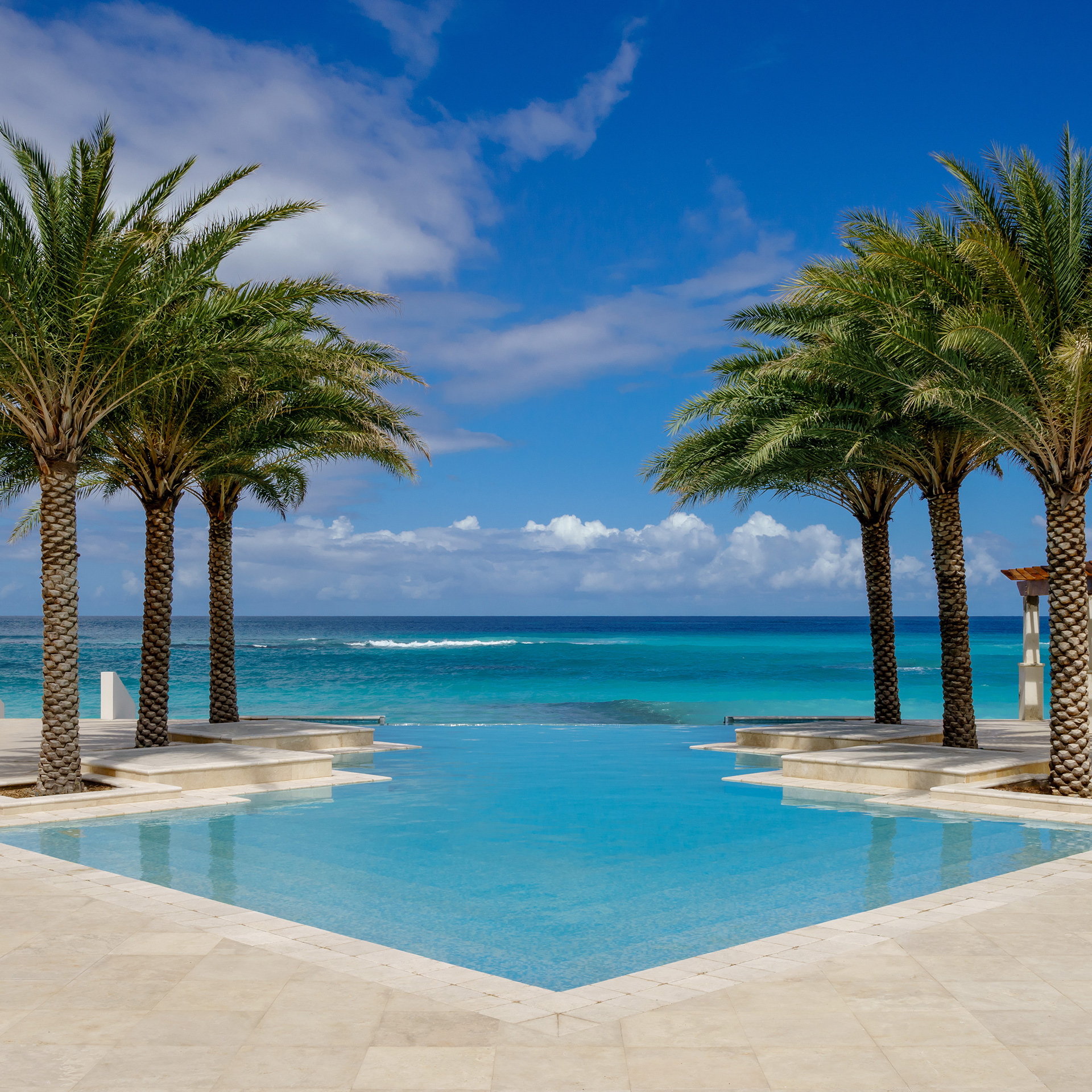 View of luxury Caribbean resort pool | Luxury Resort marketing | Zemi Beach