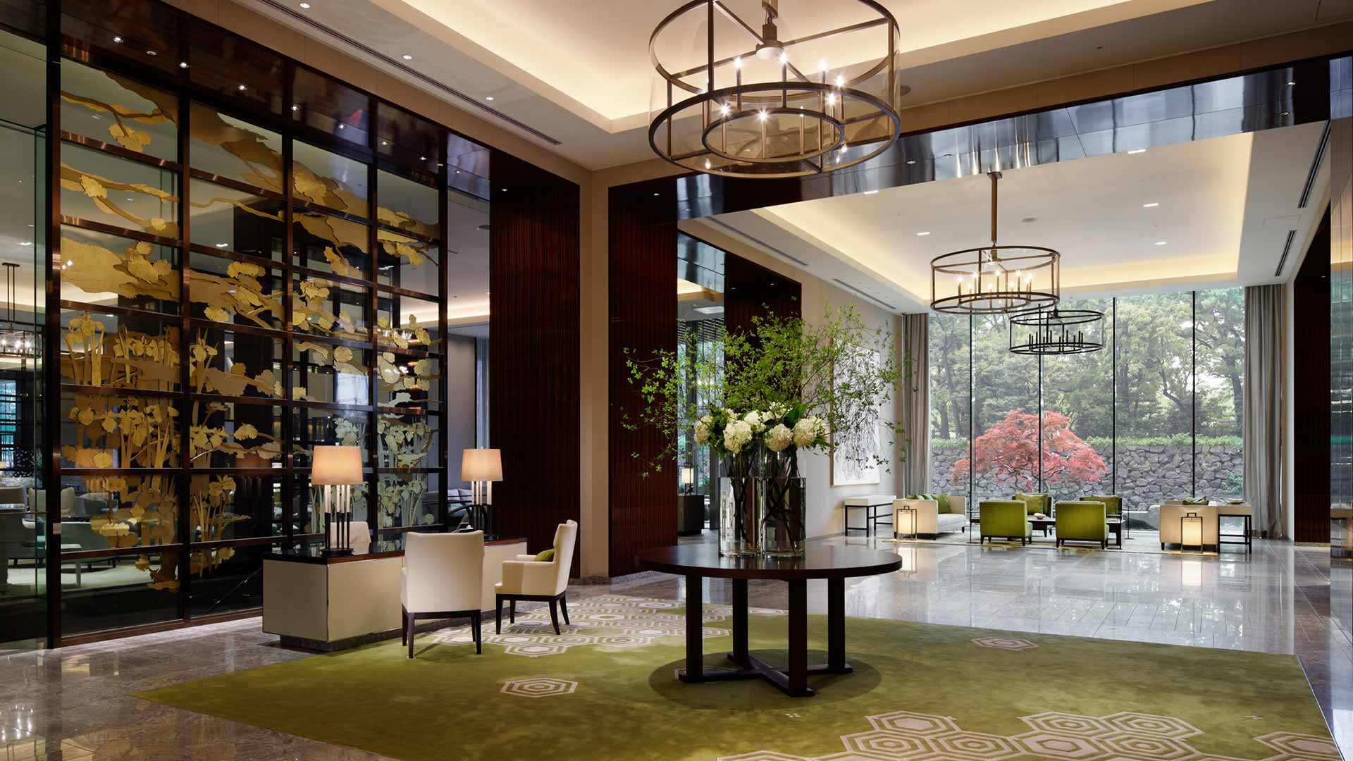View of the main lobby | Luxury Hotel SEO | Palace Hotel Tokyo