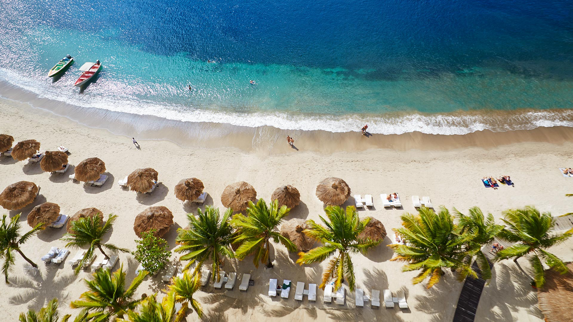 Luxury Real Estate Digital Marketing | Sugar Beach Residences | Beach Aerial Shot