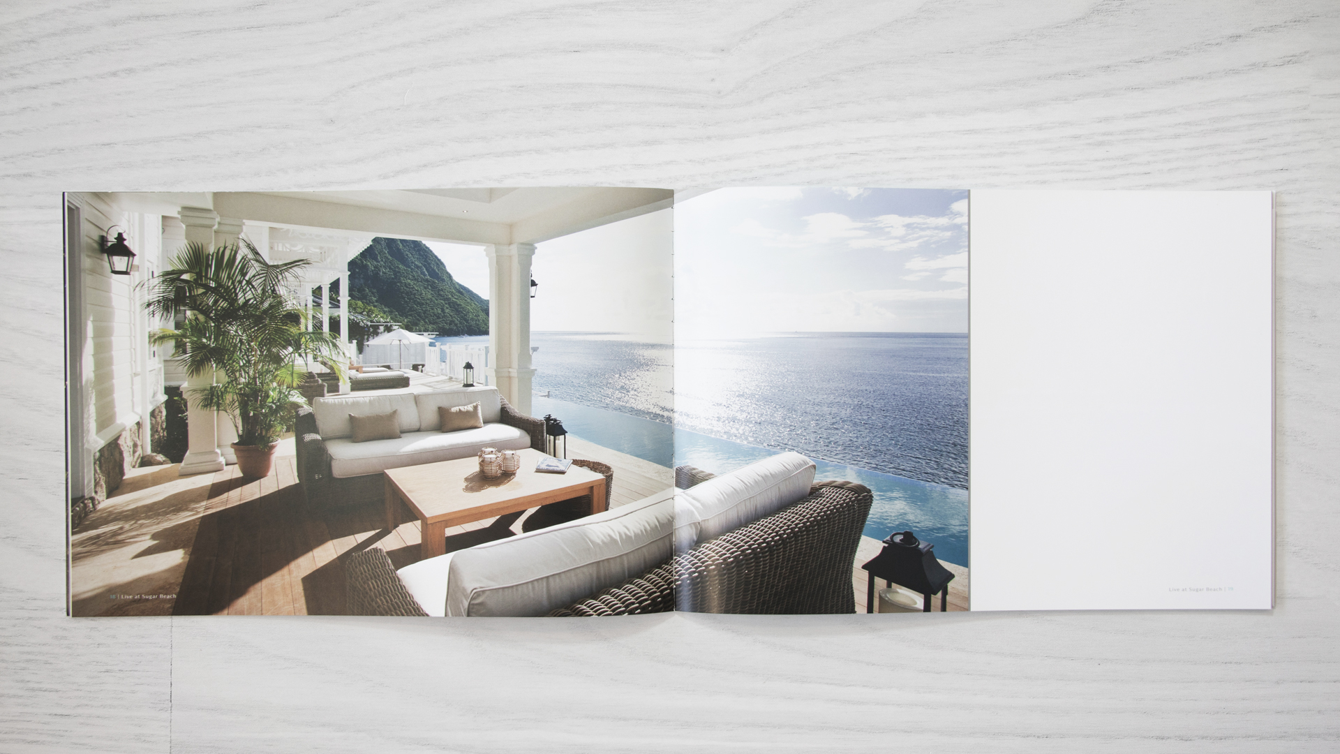 Print Marketing | Sugar Beach Residences | Sugar Beach Book Spread