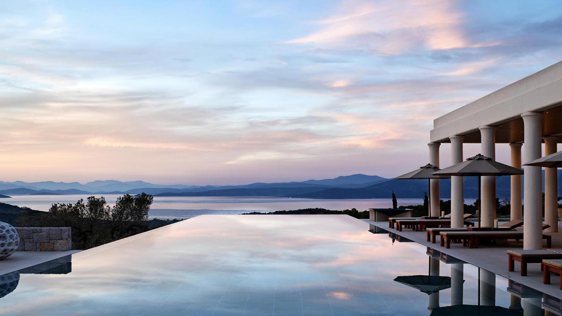 Luxury Real Estate Marketing | Aman Residences | Amanzoe Villa Pool and Views