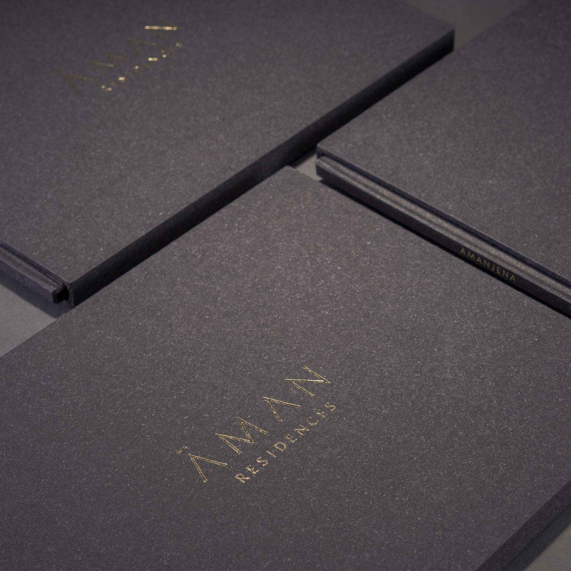 Aman Residences Brochure Design | Print Design