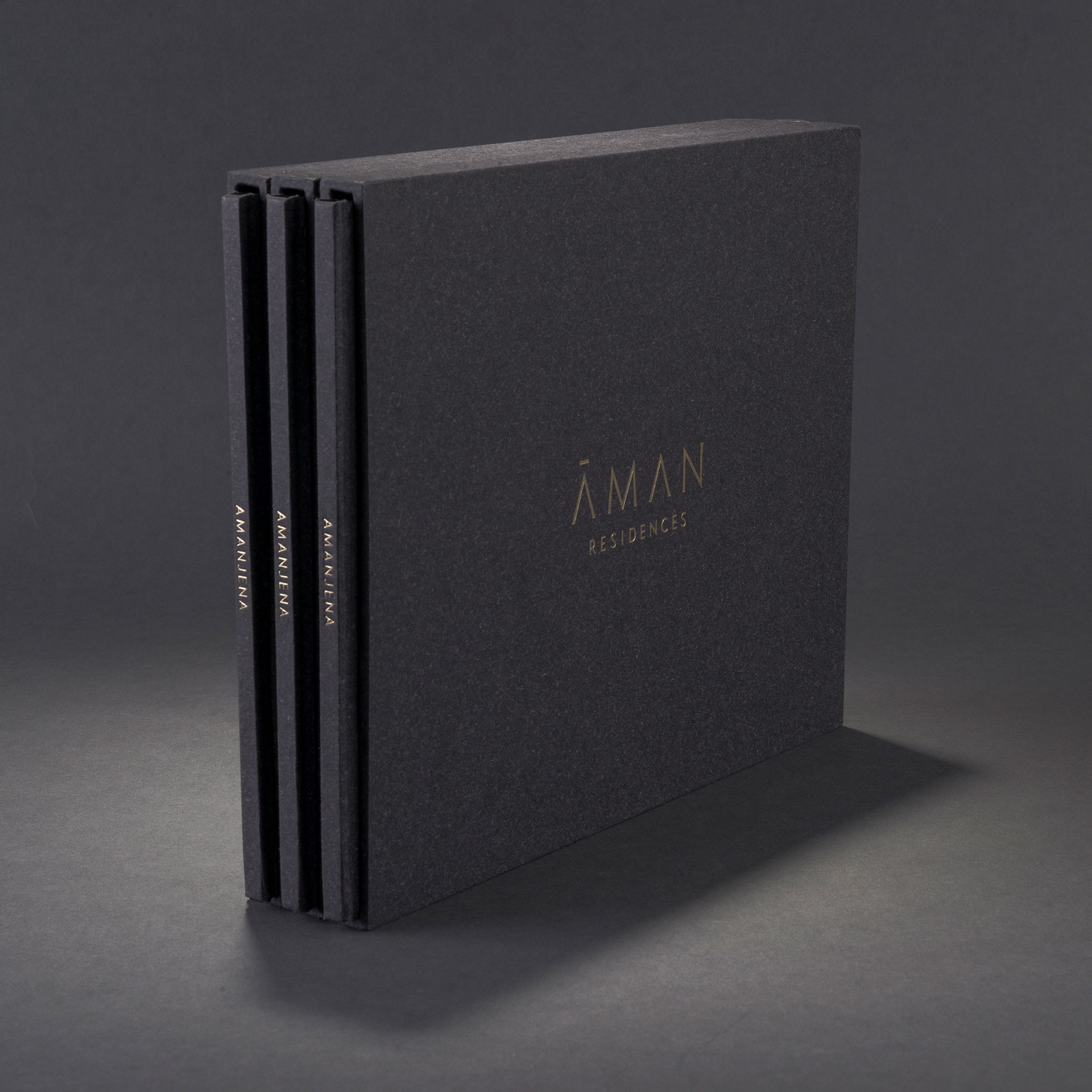 Aman Residences Brochure Design | Print work