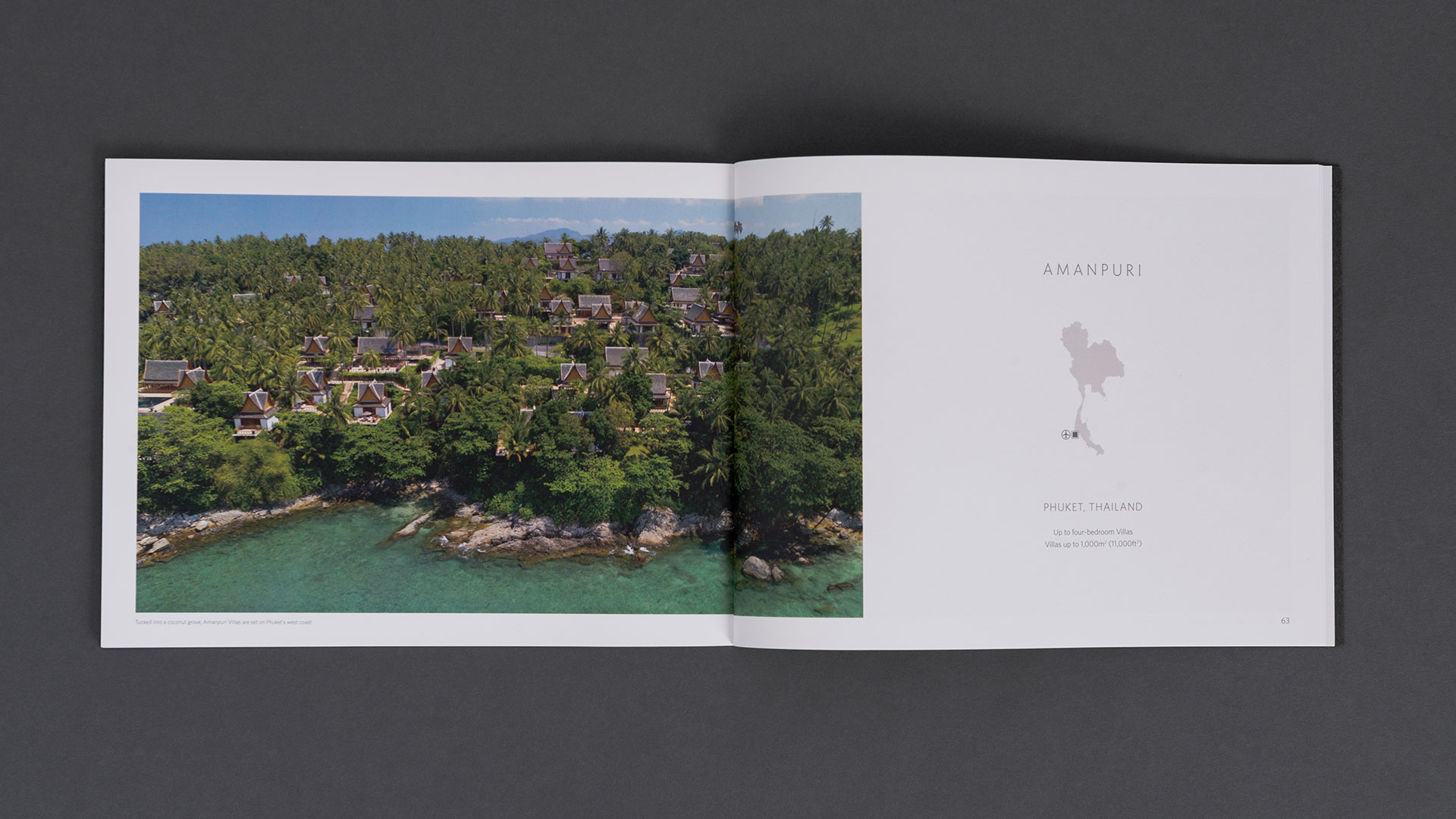 Aman Residences Brochure Design | Printed Works