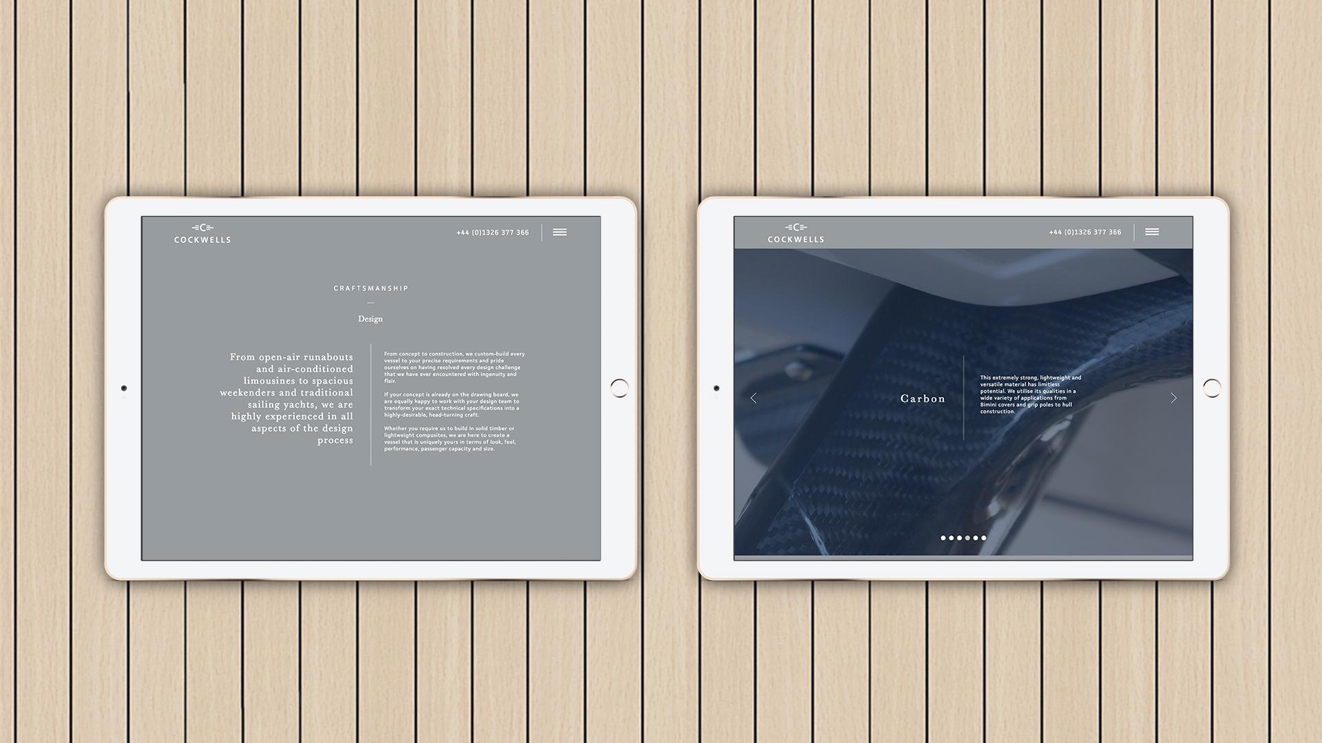 Cockwells Yachts | Creative Web Agency | Kingsland Linassi