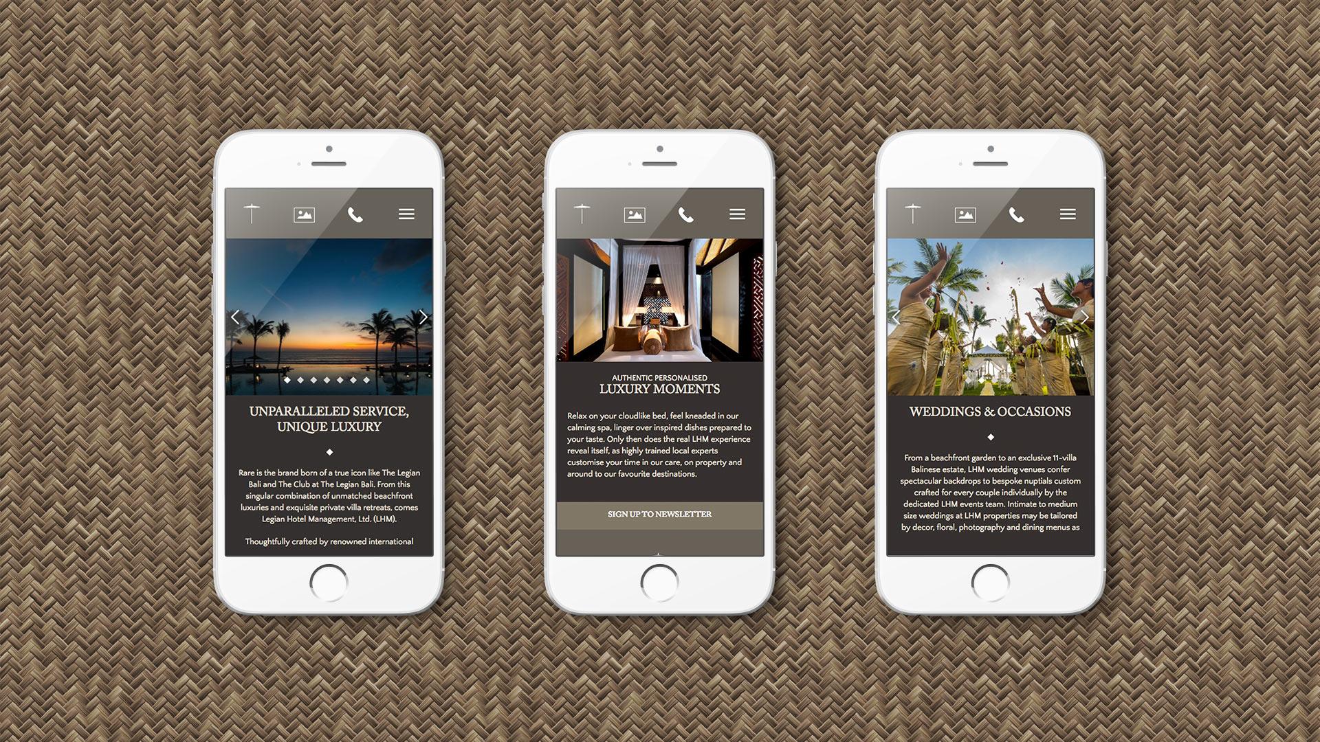 The Legian Bali | Creative Web Agency | Kingsland Linassi