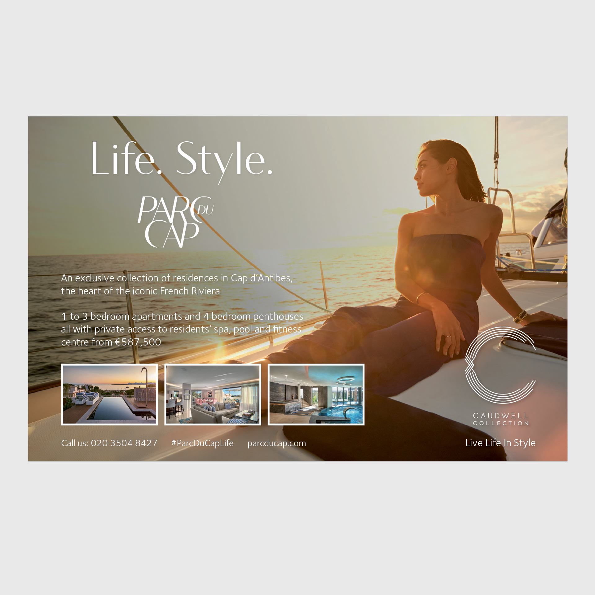Parc Du Cap | Luxury Development Cap d'Antibes | French Riviera | Luxury Resort & Residential Marketing | Kingsland Linassi